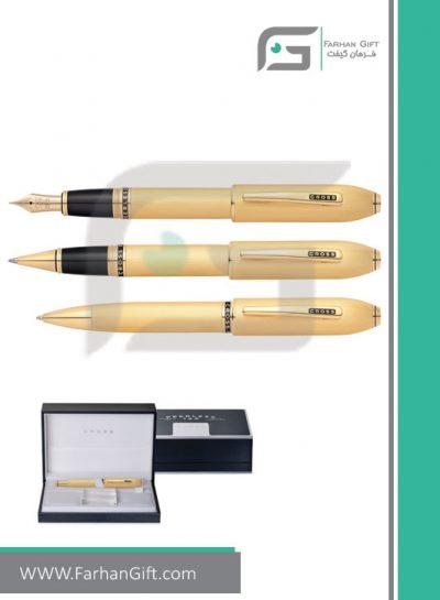 قلم نفیس کراس پریلس-گلد cross peerless 125 gold هدایای تبلیغاتی خاص فرهان گیفت