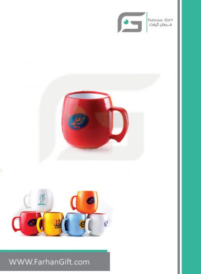 لیوان تبلیغاتی ماگ هدایای تبلیغاتی فرهان گیفت