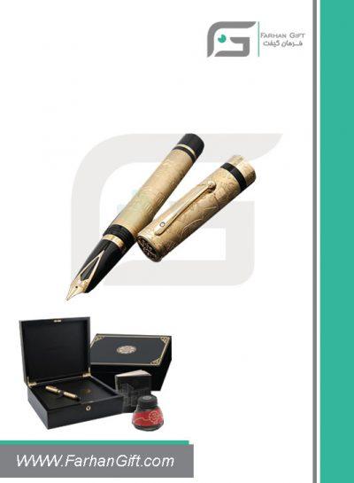 قلم نفیس شیفر pen sheaffer centennial-gold هدایای تبلیغاتی