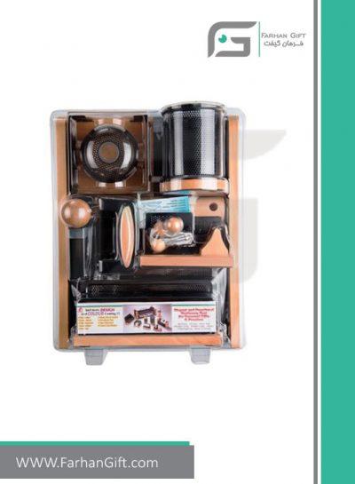 ست رومیزی کارمندی 11تکه Employee Desktop Set Wood and metal-هدایای تبلیغاتی فرهان گیفت