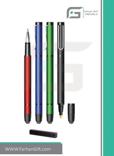 خودکار تبلیغاتی فلزیMetal AdvertisingTouch pen R-3139