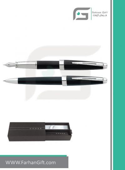 قلم نفیس کراس aventura black هدایای تبلیغاتی خاص فرهان گیفت
