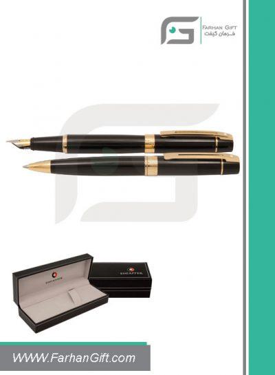 قلم نفیس شیفر pen sheaffer 300 black gold هدایای تبلیغاتی