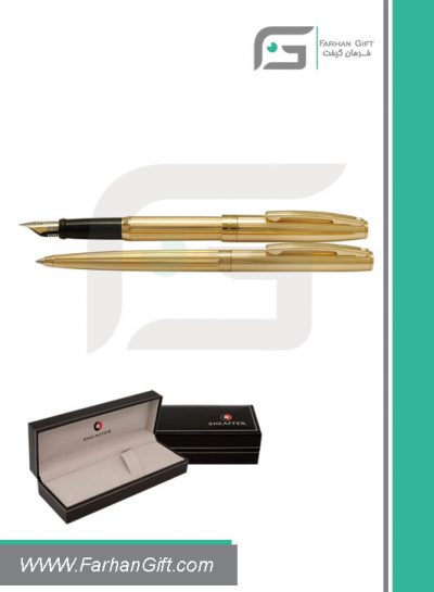 قلم نفیس شیفر pen sheaffer sagaris gold blackهدایای تبلیغاتی