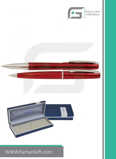 قلم نفیس یوروپن Europen alice red هدایای تبلیغاتی