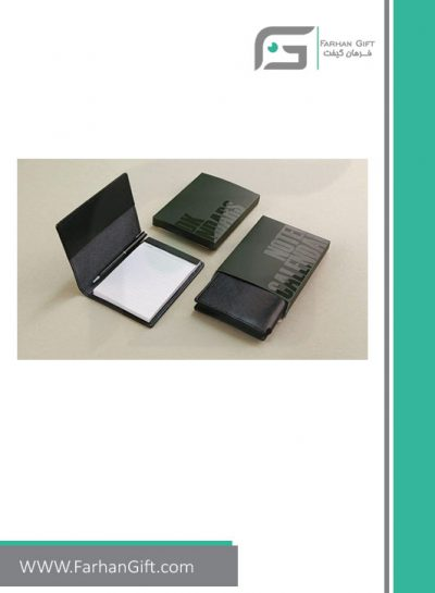 دفتر یادداشت Calendar-FG-R-yekta دفتر یادداشت تبلیغاتی 1398