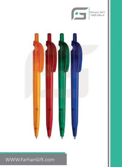 خودکار تبلیغاتی پلاستیکی plastic Advertising pen-R-Kia-Pen-KX011 فرهان گیفت