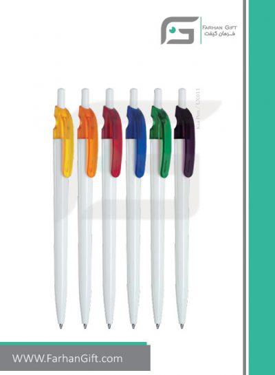 خودکار تبلیغاتی پلاستیکی plastic Advertising pen-R-Kia-Pen-LX011 فرهان گیفت