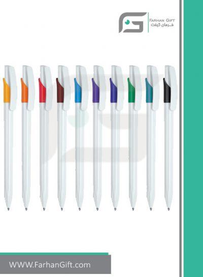 خودکار تبلیغاتی پلاستیکی plastic Advertising pen-R-Lotus-014 فرهان گیفت