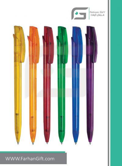 خودکار تبلیغاتی پلاستیکی plastic Advertising pen-R-Lotus-LX014 فرهان گیفت