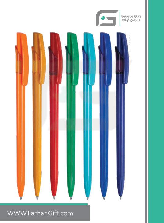 خودکار تبلیغاتی پلاستیکی plastic Advertising pen-R-Lotus-LY014 فرهان گیفت