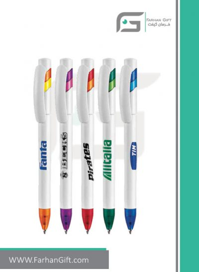 خودکار تبلیغاتی پلاستیکی plastic Advertising pen-R-Lotus-X014 فرهان گیفت