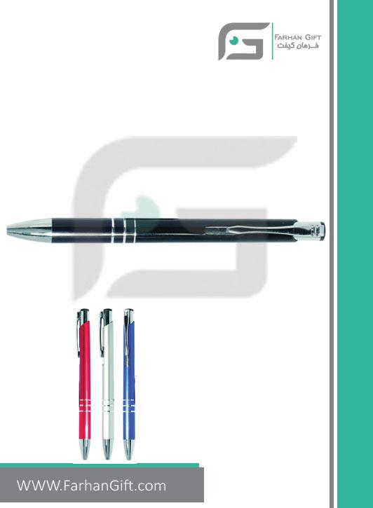 خودکار تبلیغاتی پلاستیکی plastic Advertising pen-H-H-PP-103-فرهان گیفت
