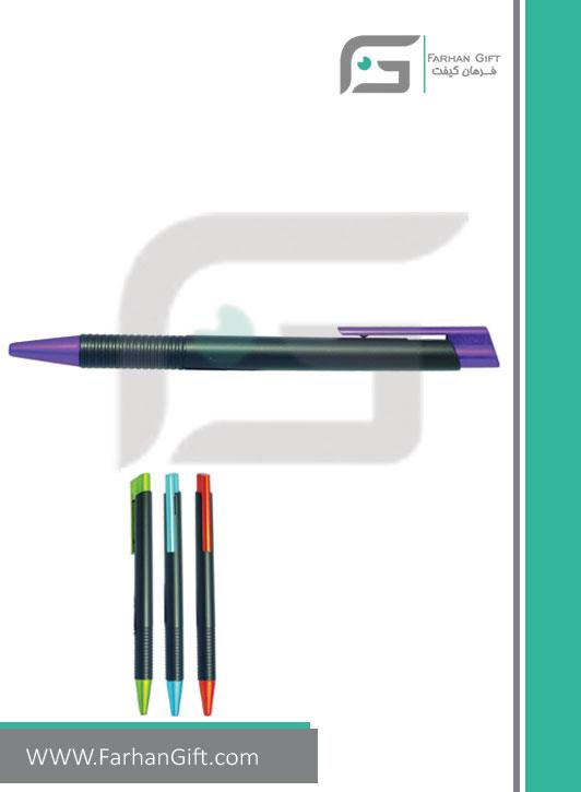 خودکار تبلیغاتی پلاستیکی plastic Advertising pen-H-H-PP-138-فرهان گیفت