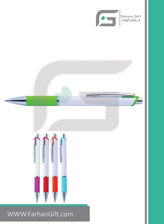 خودکار تبلیغاتی پلاستیکی plastic Advertising pen-H-H-PP-420-فرهان گیفت