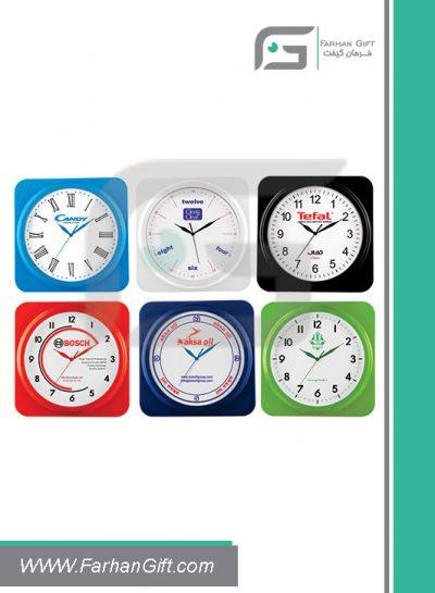 ساعت تبلیغاتی Advertising clock fg-z-5192-1 فرهان گیفت