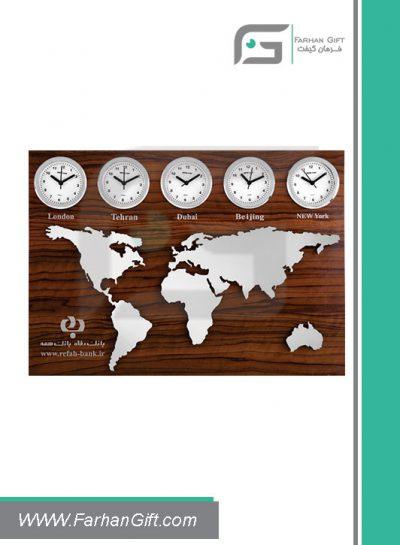 Advertising clock-5137 ساعت تبلیغاتی فرهان گیفت