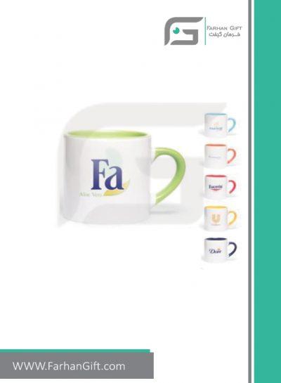 لیوان تبلیغاتی Advertising-mug-230-color ماگ هدایای تبلیغاتی فرهان گیفت
