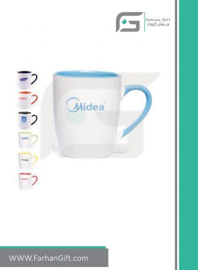 لیوان تبلیغاتی Advertising-mug-7007-color ماگ هدایای تبلیغاتی فرهان گیفت