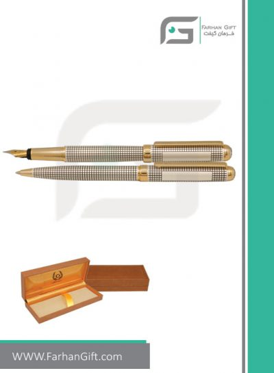 قلم نفیس ایپلمات pen iplomat -lord-Checkered-goldقلم تبلیغاتی ایپلمات فرهان گیفت