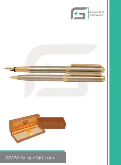 قلم نفیس ایپلمات pen iplomat -lord-steel-gold قلم تبلیغاتی ایپلمات فرهان گیفت