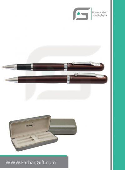 قلم نفیس ملودی melody10-brown هدایای تبلیغاتی
