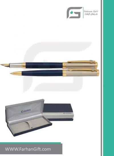 قلم نفیس یوروپن Europen espirt-blue-01هدایای تبلیغاتی