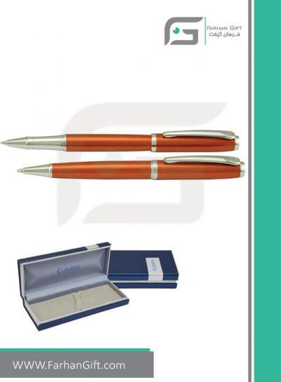 قلم نفیس یوروپن Europen kiss-Copper هدایای تبلیغاتی