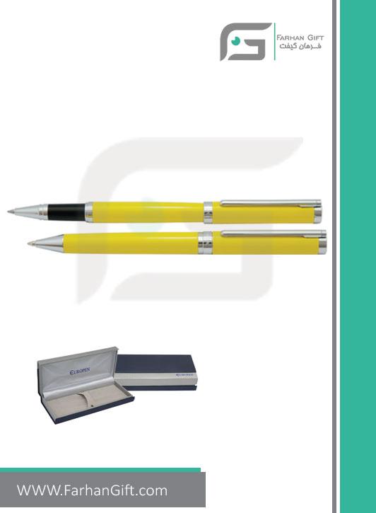 قلم نفیس یوروپن Europen lindaهدایای تبلیغاتی