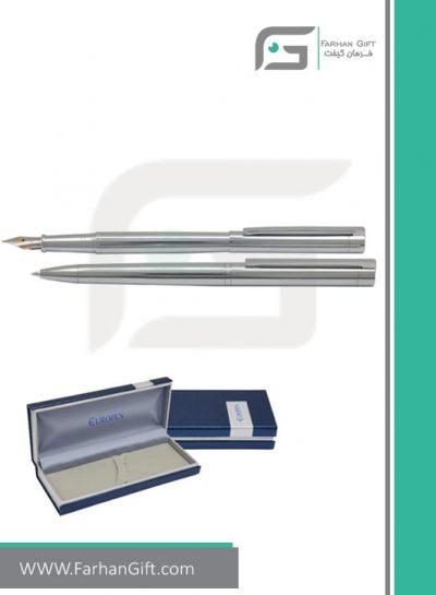قلم نفیس یوروپن Europen theory silver هدایای تبلیغاتی