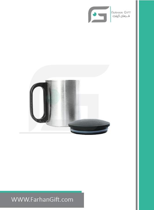 لیوان تبلیغاتیmetal-mug-fg-200 هدایای تبلیغاتی فرهان گیفت