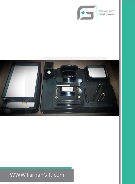 ست رومیزی مدیریتی کد 2-108-Management desk set-سرویس اداری رومیزی فرهان گیفت