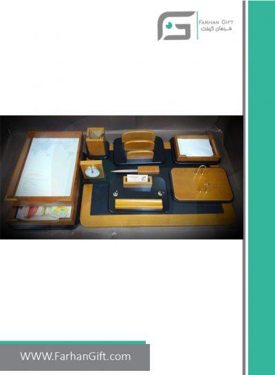 ست رومیزی مدیریتی کد 3-108-Management desk set-سرویس اداری رومیزی فرهان گیفت