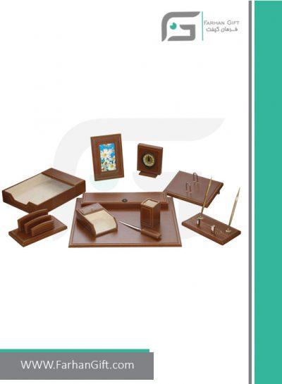 ست رومیزی مدیریتی کد 518-Management desk set-سرویس اداری رومیزی فرهان گیفت