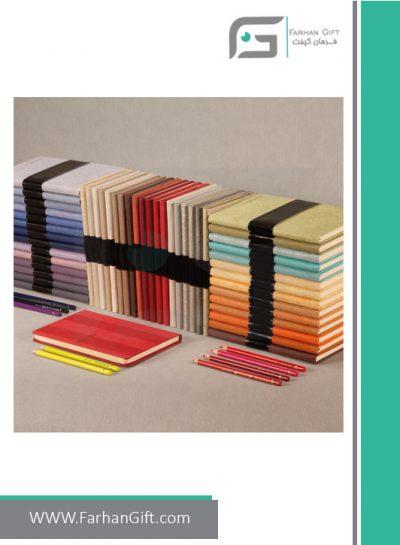 دفتر یادداشت اروپایی FG-D427 BN- دفتر یادداشت تبلیغاتی