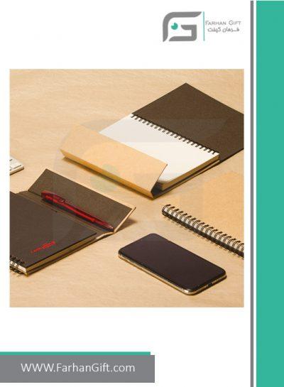 دفتر یادداشت طرح سانا FG-D428- دفتر یادداشت تبلیغاتی