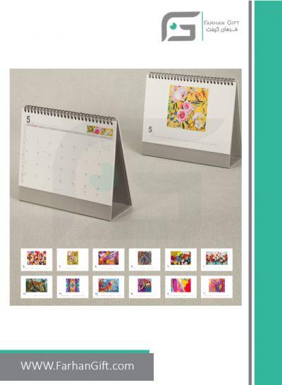 تقویم رومیزی طرح رها FG-D419- تقویم رومیزی 1400