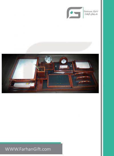 ست رومیزی مدیریتی کد 6001-Management desk set-سرویس اداری رومیزی فرهان گیفت