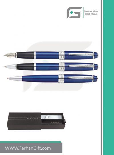قلم نفیس کراسcross baily blue هدایای تبلیغاتی خاص فرهان گیفت