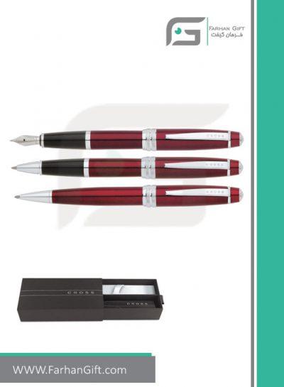 قلم نفیس کراس cross baily red هدایای تبلیغاتی خاص فرهان گیفت