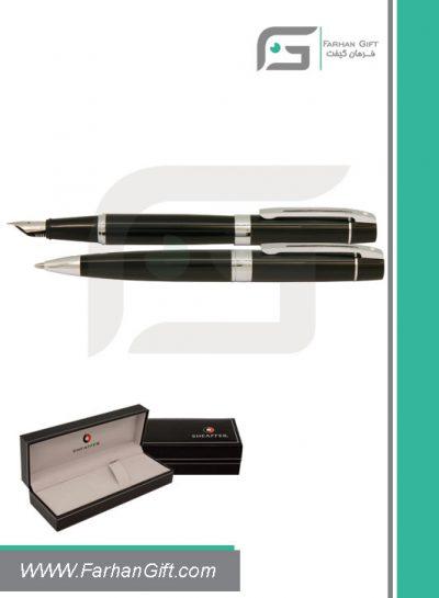 قلم نفیس شیفر pen sheaffer 300 black silver هدایای تبلیغاتی