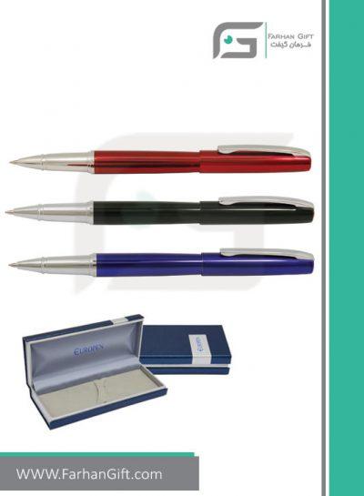 قلم نفیس یوروپن Europen alice Liquid corol هدایای تبلیغاتی
