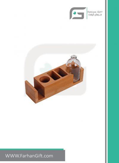 هدیه چوبی ست رومیزی رویال Special-wooden-gifts-royal-FG-79395-هدایای تبلیغاتی لوکس