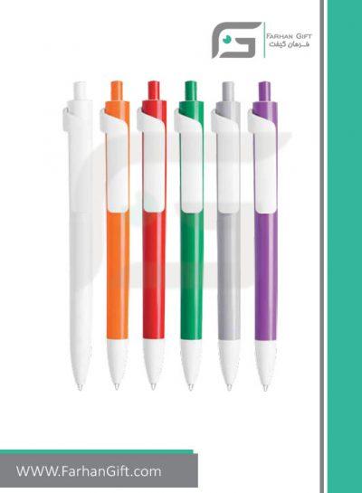 خودکار تبلیغاتی پلاستیکی plastic Advertising pen-R-Forte-602فرهان گیفت