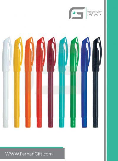 خودکار تبلیغاتی پلاستیکی plastic Advertising pen-R-K2000-LX فرهان گیفت