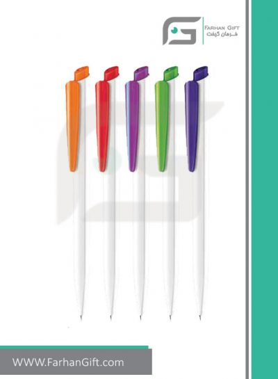 خودکار تبلیغاتی پلاستیکی plastic Advertising pen--R-Polished-2959 فرهان گیفت