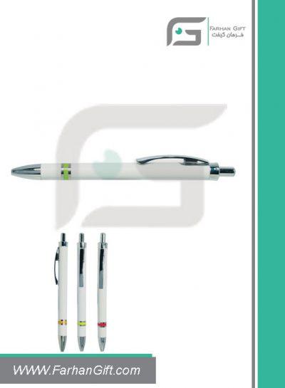 خودکار تبلیغاتی پلاستیکی plastic Advertising pen-H-H-PP-152-فرهان گیفت