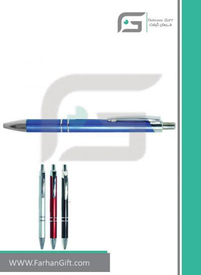 خودکار تبلیغاتی پلاستیکی plastic Advertising pen-H-H-PP-104-فرهان گیفت