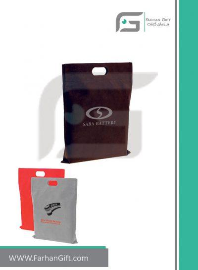ساک دستی سوزنی تبلیغاتی مدل201u هدایای مصرفی تبلیغاتی