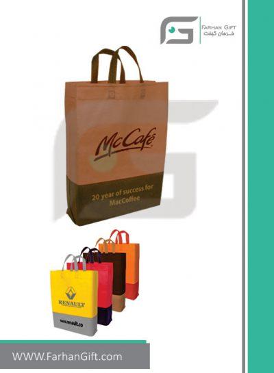 ساک دستی سوزنی تبلیغاتی مدل207e هدایای مصرفی تبلیغاتی